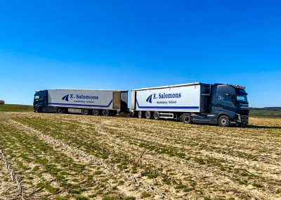 Salomons Transport Hardenberg Walkingfloor trailers